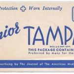 Tampones Tampax y el adoctrinamiento